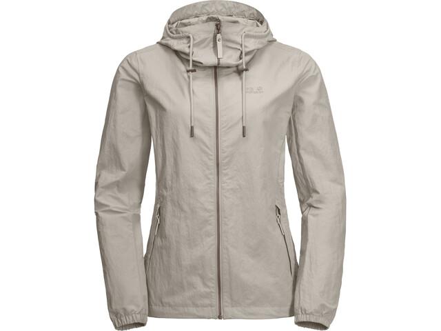 Original- Wie findet man wie man serch Jack Wolfskin Lakeside Jacket Damen dusty grey